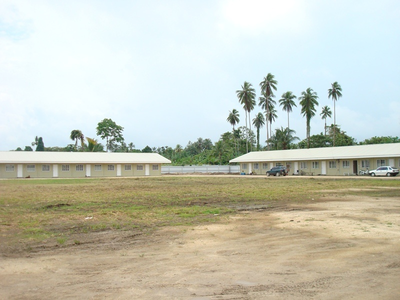 RDFP MULTI-PURPOSE STAFFHOUSE BUILDINGS AT VIDAR, NCR, MADANG, PNG