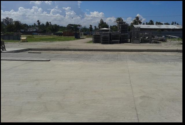 RDFP CONCRETING PHASE 1-4 AT VIDAR, NCR, MADANG, PNG