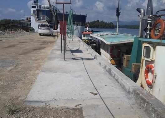 RDFP BISMARK RETROFITTING  OF SLIPWAY AT VIDAR, NCR, MADANG, PNG