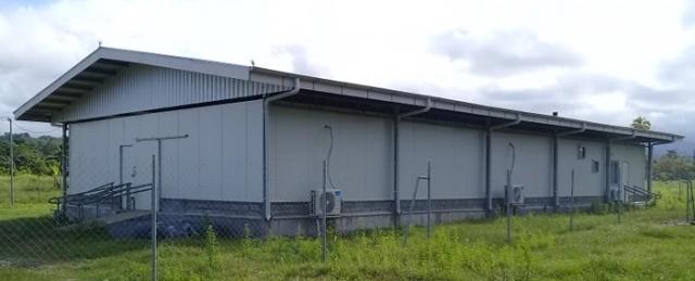 RD FARMS HATCHERY BUILDING AT MAIWARA, NCR, MADANG PNG
