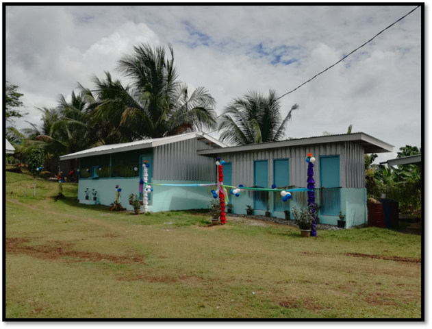 RD MINISTRY 5-ROOM DORMITORY WITH KITCHEN AND TOILET/SHOWER AT SIAR, NCR, MADANG, PNG