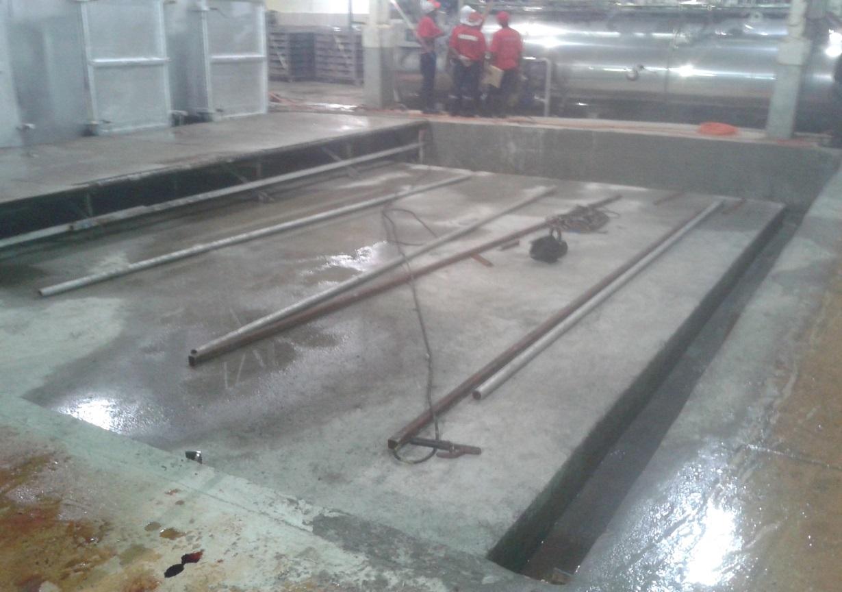 RDTC PRECOOKER FOUNDATION AT SIAR, MADANG, PNG