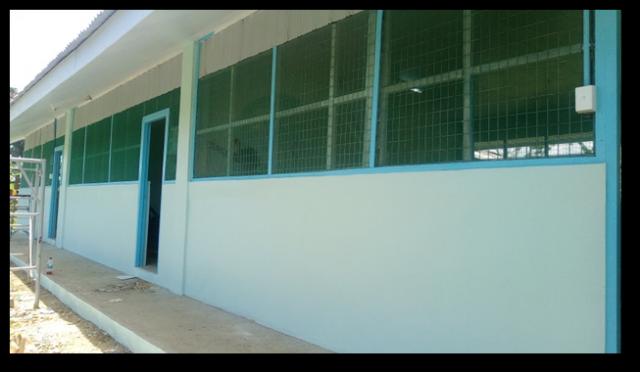 REPAIR & REPAINTING OF RD MINISTRY 3-CLASSROOM BUILDING AT SIAR, MADANG, PNG